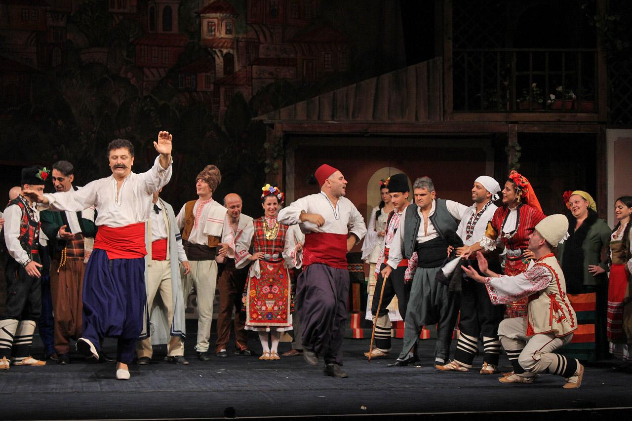 театър, постановка, Българи от старо време