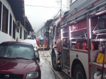 пожар в старата част на В.Търново