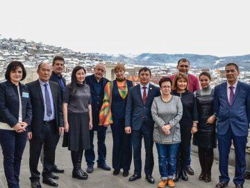 Казахстан делегация