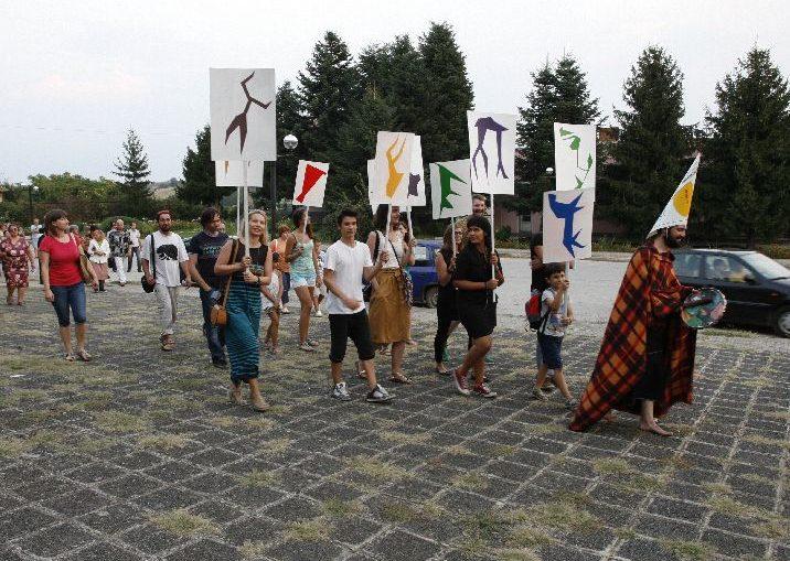 арт резиденция, ритуална революция