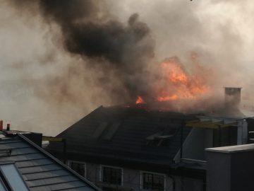 пожар Велико Търново