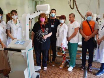 болница Павликени, мобилен рентген
