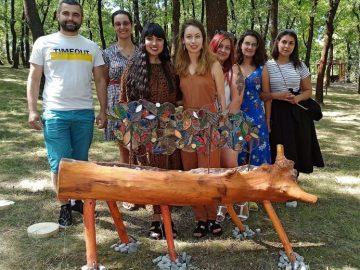 "витражи парк ""Света гора"", Велико Търново"