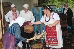 Житената питка в Балканци