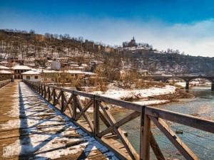 """Велико Търново """"в детайл"""" през зимата"""