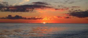 Залез в Южния океан - западно от Антарктическия полуостров 1