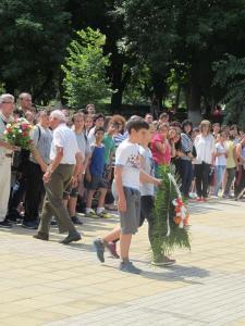2 юни 2017 - Ден на Ботев и героите