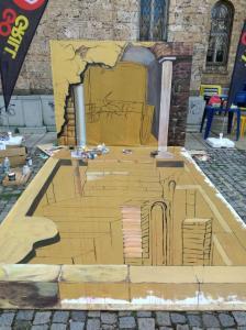 Фестивал за 3D улично изкуство - Велико Търново 2017